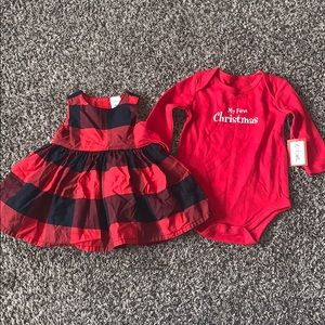 Baby Girls Christmas Bundle SZ.3 months
